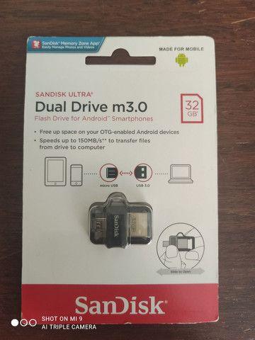 Pen drive SanDisk ultra 32gb dual drive 3.0