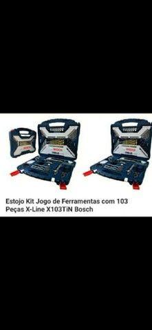 Estojo kit de ferramenta 103 peças Bosch Titanium. *. - Foto 3
