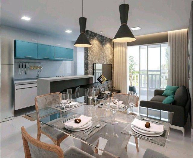 Apartamento no Eusébio com 2 dormitórios à venda, 49 m² por R$ 169.735 - Eusébio - Eusébio - Foto 2