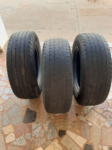 Vendo 3 pneus aro 16 para caminhonete  - Foto 3