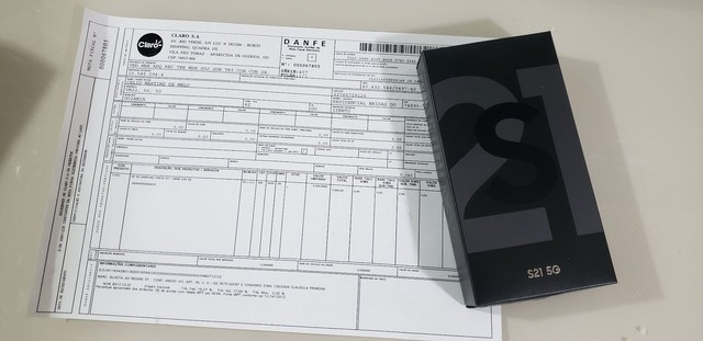 Galaxy s21 128gb 5G cinza lacrado  na caixa