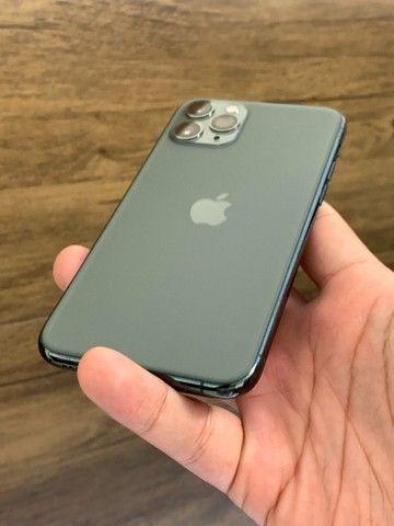 iPhone 11 Pro Max 64GB Verde Green - Até 18x no cartão! Semi novo, perfeito 64 GB
