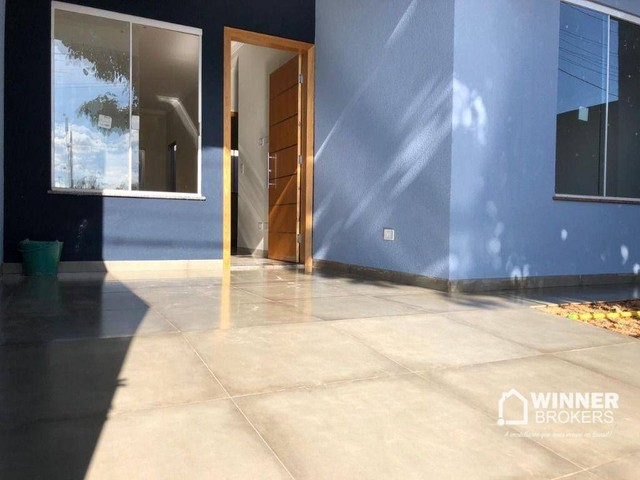 Casa com 2 dormitórios à venda, 58 m² por R$ 135.000 - Jardim Tropical - Marialva/PR - Foto 2
