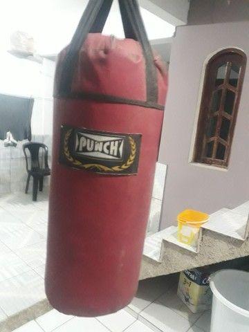 saco de pancada 90 cm, 2 luvas - Foto 5