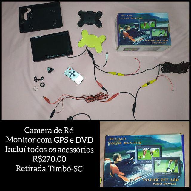Camera de Ré com Monitor