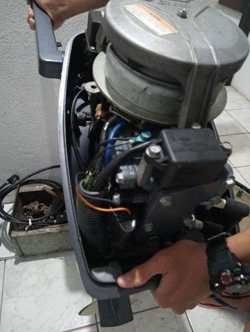 Vendo Motor de polpa Yamaha. Fabricado em Outubro de 2012 - Foto 5