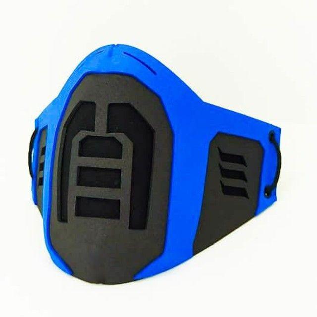 Máscara Cosplay De Proteção Mortal Kombat  - Foto 3