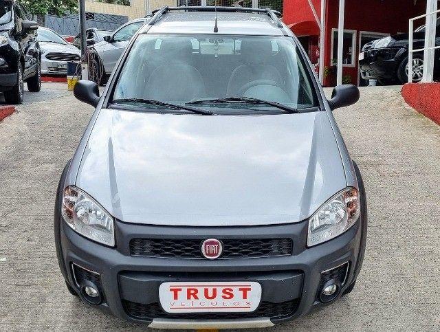Fiat Strada C.Estendida 1.4 Hard Working 2017! Completa! Unico Dono! - Foto 2