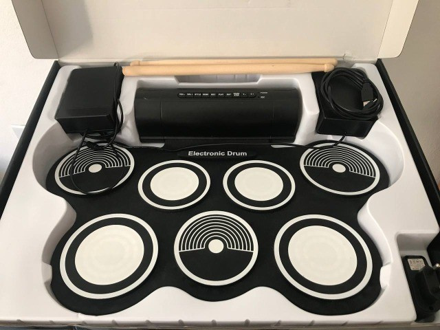 Bateria Eletrônica Kit Completo  - Foto 2