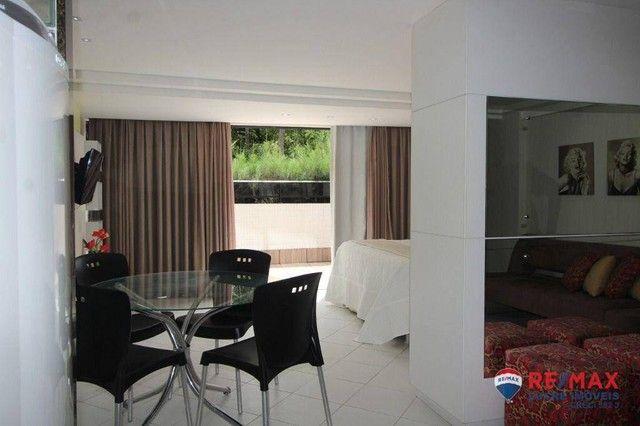 Apartamento com 1 dormitório à venda, 66 m² por R$ 310.000,00 - Cabo Branco - João Pessoa/ - Foto 10