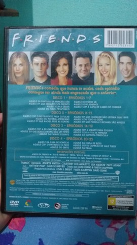 dvd 3 temporada completa friends  - Foto 2