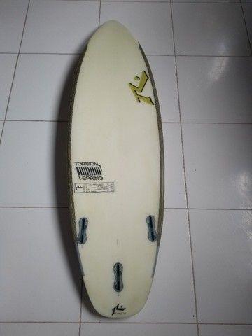 "Prancha de Surf Rust San Diego - 5'7"" (seminova) - Foto 2"
