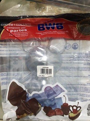 Formas da bwb para chocolate  - Foto 3