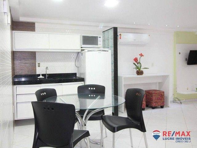 Apartamento com 1 dormitório à venda, 66 m² por R$ 310.000,00 - Cabo Branco - João Pessoa/ - Foto 11