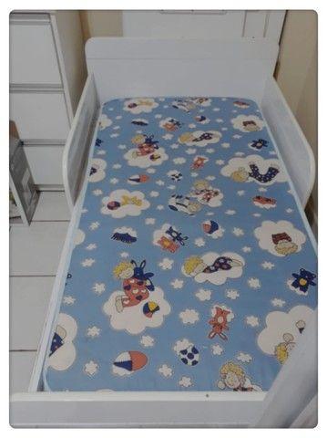 Berço mini cama + colchão - Foto 4