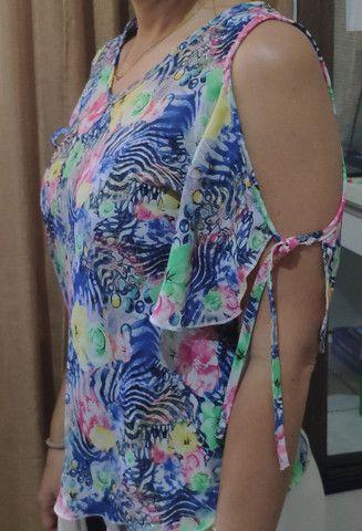 Blusa crepe - Foto 2