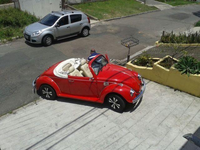 Vw - Volkswagen Fusca Cabriolet - Foto 7