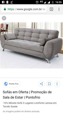 Quero comprar sofa parcelado