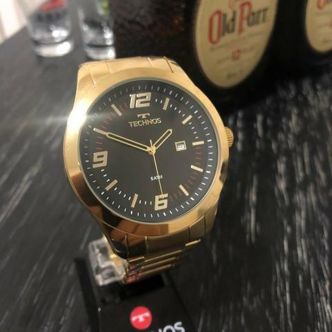 Relógio Technos Dourado A Partir De 299,00, Com Garantia de 12 Meses, Prova D'água, Origin - Foto 5