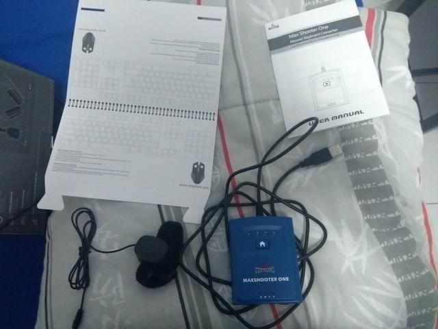 MaxShooter One , adaptador de mouse e teclado - Foto 3