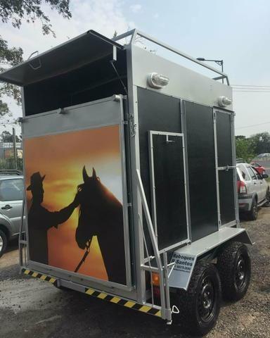 Reboques para Cavalos Personalizados