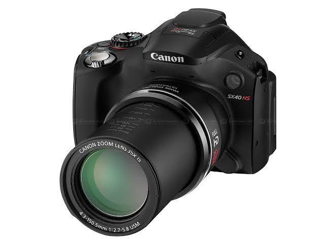 Camera Canon SX40 HS 12.1MP Semi-profissional - Foto 4
