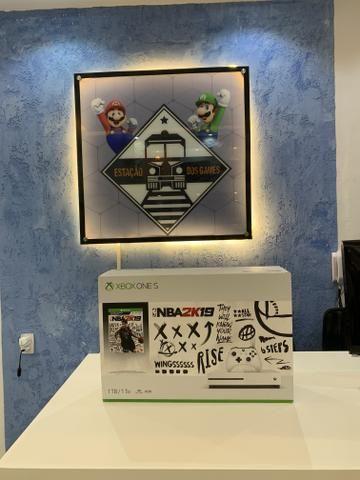Xbox One S 1 tb 4k com jogo - Foto 2