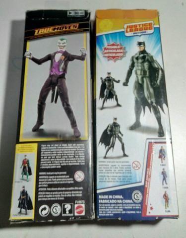 Bonecos Batman e Coringa Mattel - Foto 2