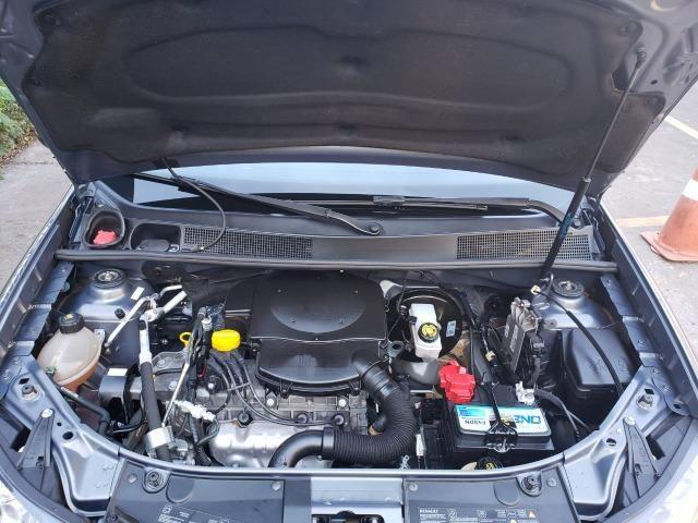 Renault Logan Expression 1.6 16/16 flex mec. cinza - Foto 12