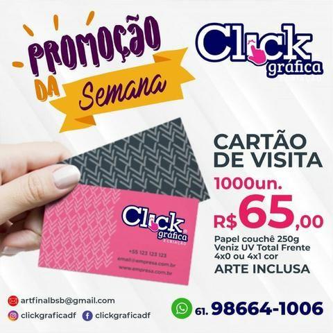 Cartão de Visita - Promoção