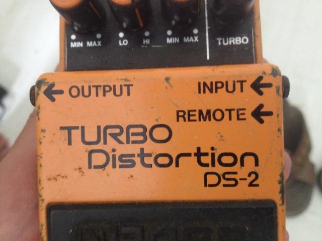 Pedal Boss Turno Distortion DS-2 - Foto 3