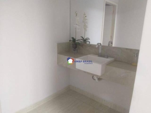 Apartamento com 4 dormitórios à venda, 261 m² por R$ 850.000,00 - Setor Oeste - Goiânia/GO - Foto 7
