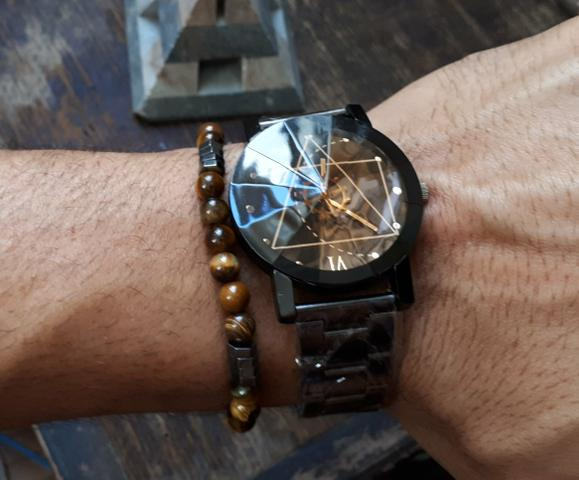 91d7707bb77 Relógio Enigma Safira! Importado