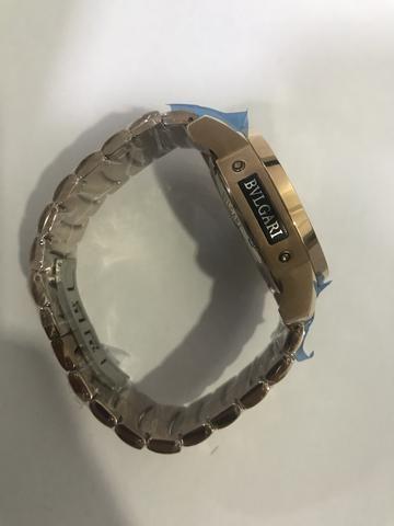 2ec8200e5a8 Relógio Bvlgari iron man - Bijouterias
