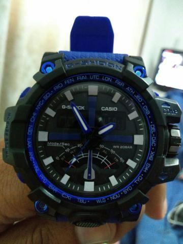 acbe76012d2 Relógio Casio G -Shock Pulseira Azul - Bijouterias