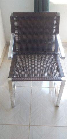 Conjunto De Cadeiras Fibra Sintética Varanda Vime Junco - Mega Promoção!! - Foto 5