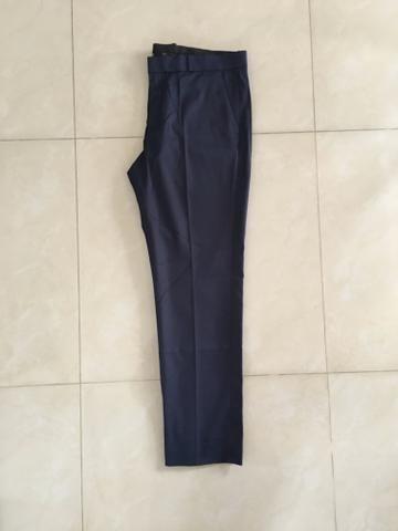 Calça de Alfaiataria - Azul Marinho