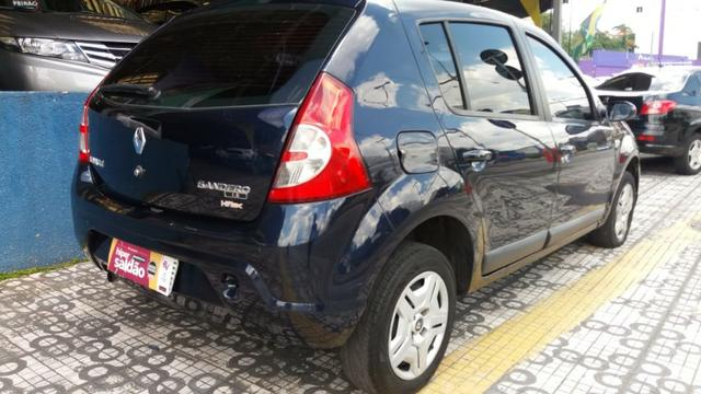 Renault Sandero Privilege 1.6 completa Azul 2009 flex - Foto 12