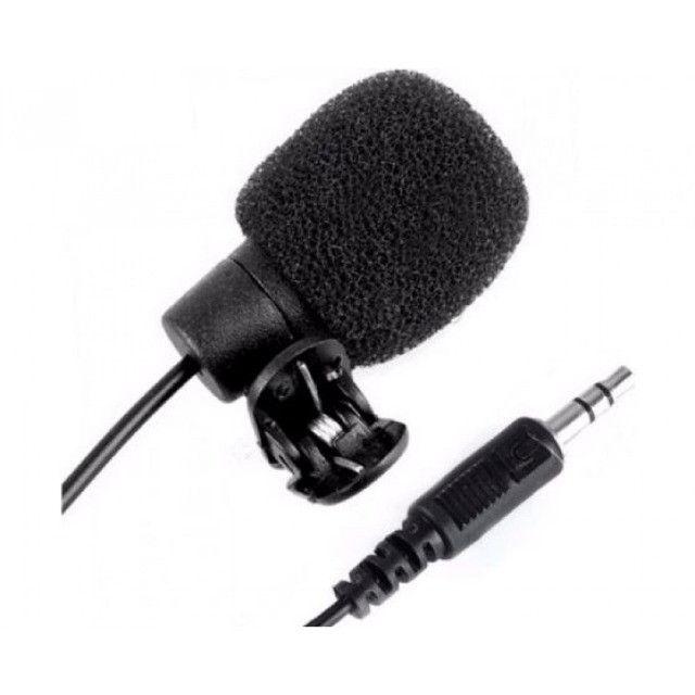 (WhatsApp) microfone de lapela p2 1,5m