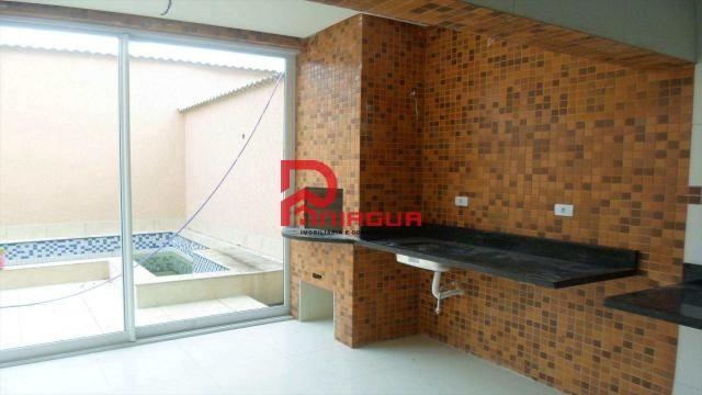Casa à venda com 4 dormitórios em Canto do forte, Praia grande cod:1089 - Foto 11