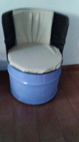 Poltrona de tambor