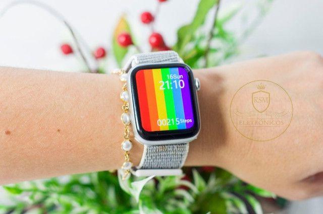 Smartwatch igual ao aple w26 iwo 12 - Foto 3