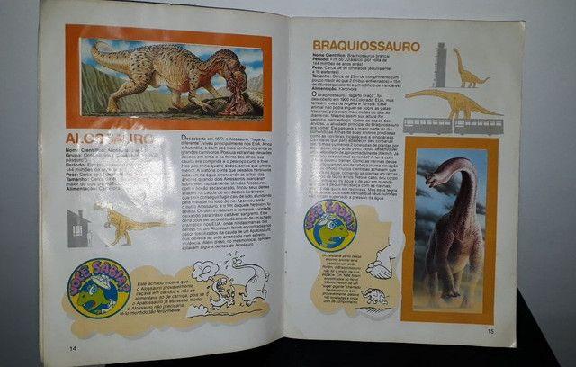 Álbum De Figurinhas Dinossauros Nestlé Surpresa - Completo com 30 figurinhas <br><br> - Foto 5