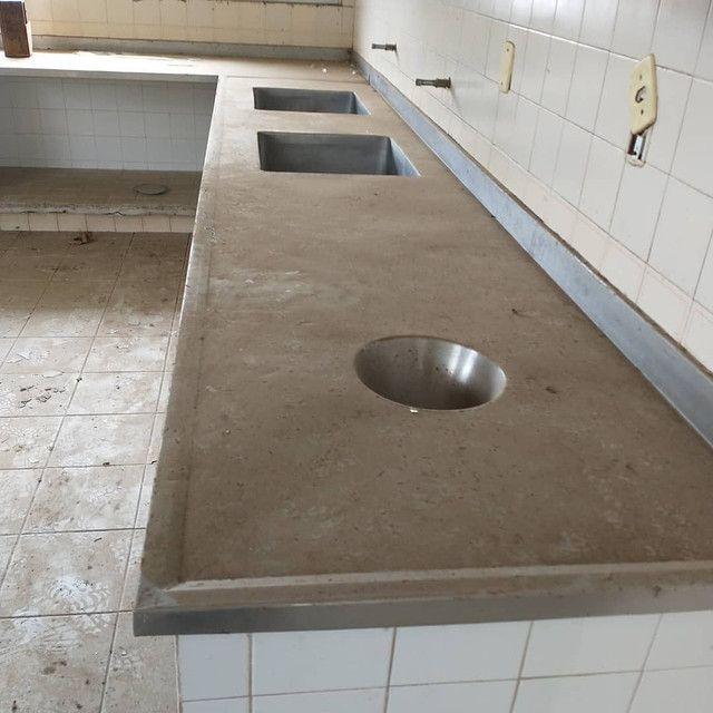 Balcão para cozinha e mesas. - Foto 2