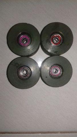 Rodas de Skate de Cilicone - Foto 4