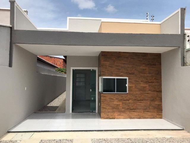 Casa de 3 Quartos com excelente acabamento 1 parcela para julho - Foto 2