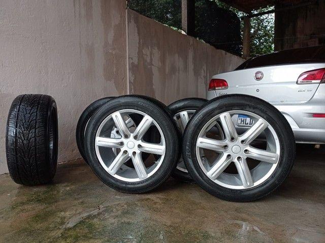 Rodas e pneus 265/50 aro 20 - Foto 4