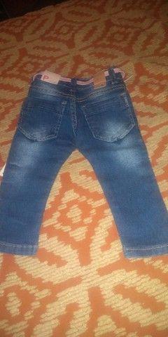 Calça jeans criança