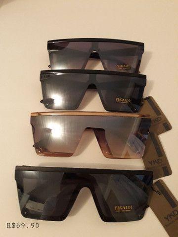 Óculos quadrado unissex top  - Foto 3