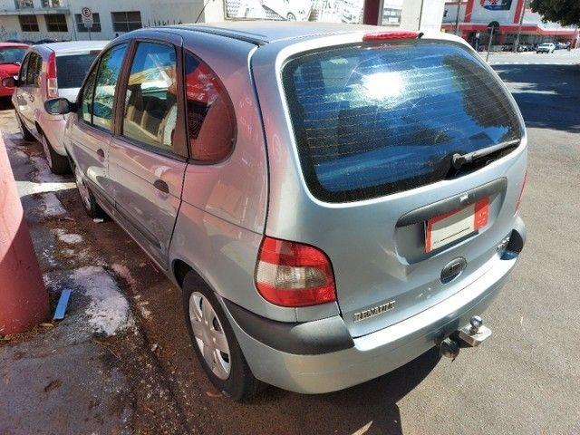 Renault Scenic Authentic Completo 1.6 Flex 4 Portas Prata 2005 - Foto 3
